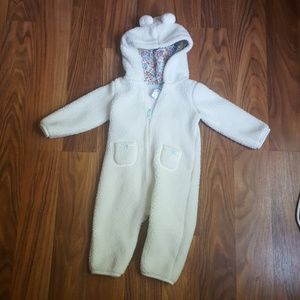 Carters sherpa hooded bunting